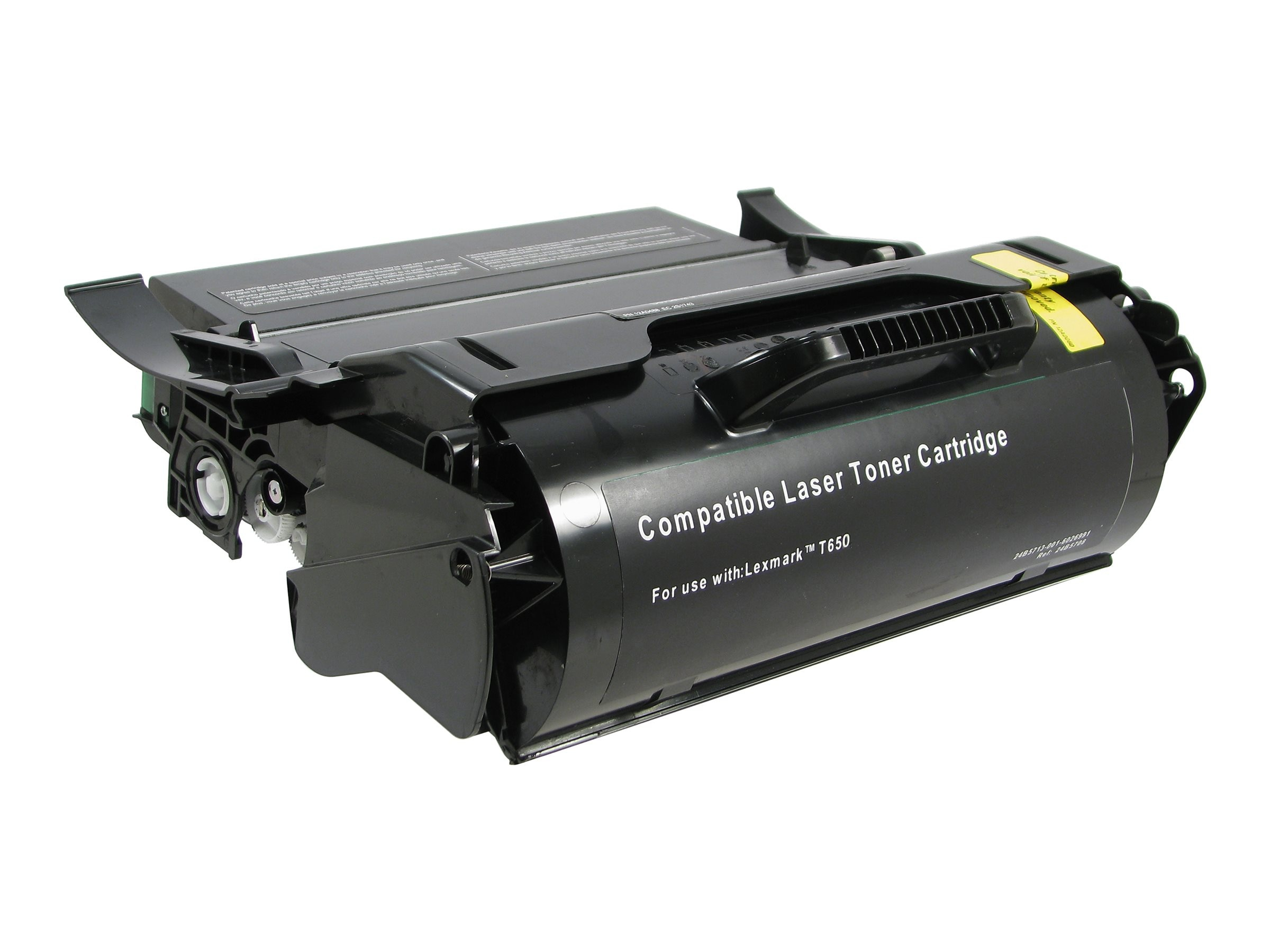 V7 T650H11A Black High Yield Toner Cartridge for Lexmark T650, T654, X651 & X654