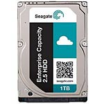 Seagate 1TB Enterprise Capacity SATA 6Gb s 512 Native 2.5 15mm Z-Height Nearline Hard Drives (30-pack)