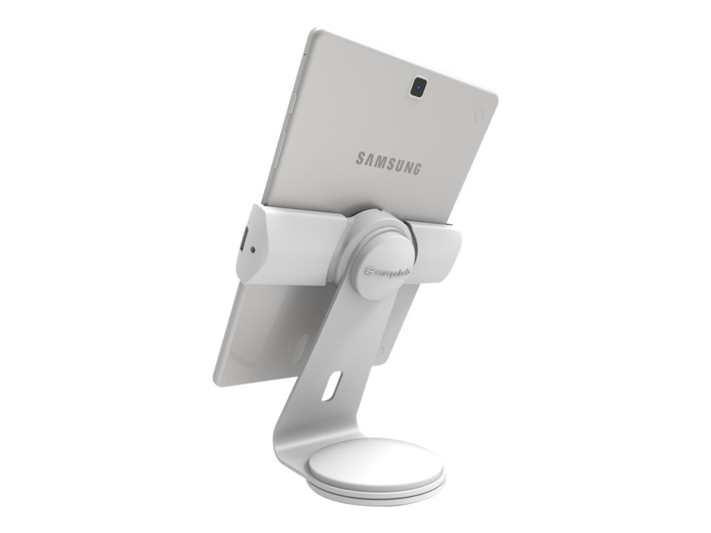 Maclocks Cling 2.0 Universal iPad Security Stand, White, UCLGSTDW, 31796401, Stands & Mounts - AV