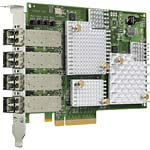 HPE 84E 8Gb Quad-Port Fibre Channel Host Bus Adapter, E7Y63A, 30719374, Host Bus Adapters (HBAs)