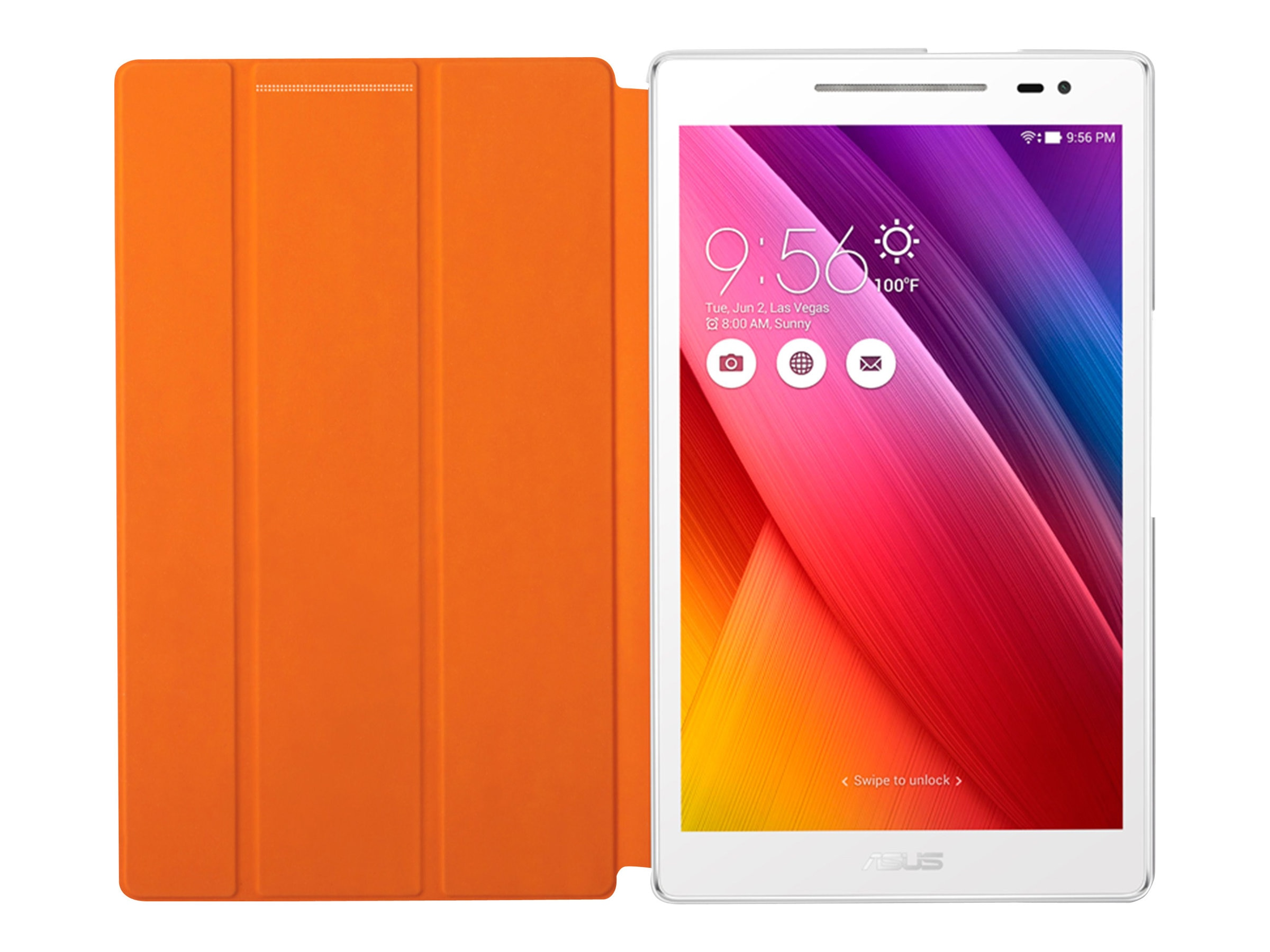 Asus Tricover for Zenpad 8.0, White, 90XB015P-BSL320