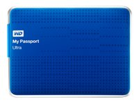 WD 2TB My Passport Ultra USB 3.0 Portable Hard Drive - Blue, WDBMWV0020BBL-NESN, 16100241, Hard Drives - External