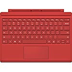 Microsoft Surface Pro 4 Type Cover, Red