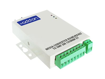 ACP-EP Media Converter RS485 RS422 To SMF 20K 1310NM ST, ADD-RS422-2ST, 16223022, Network Transceivers