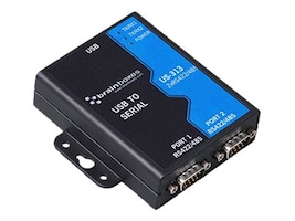 Brainboxes 2-Port RS422 485 USB to Serial Adapter, US-313, 15251136, Controller Cards & I/O Boards