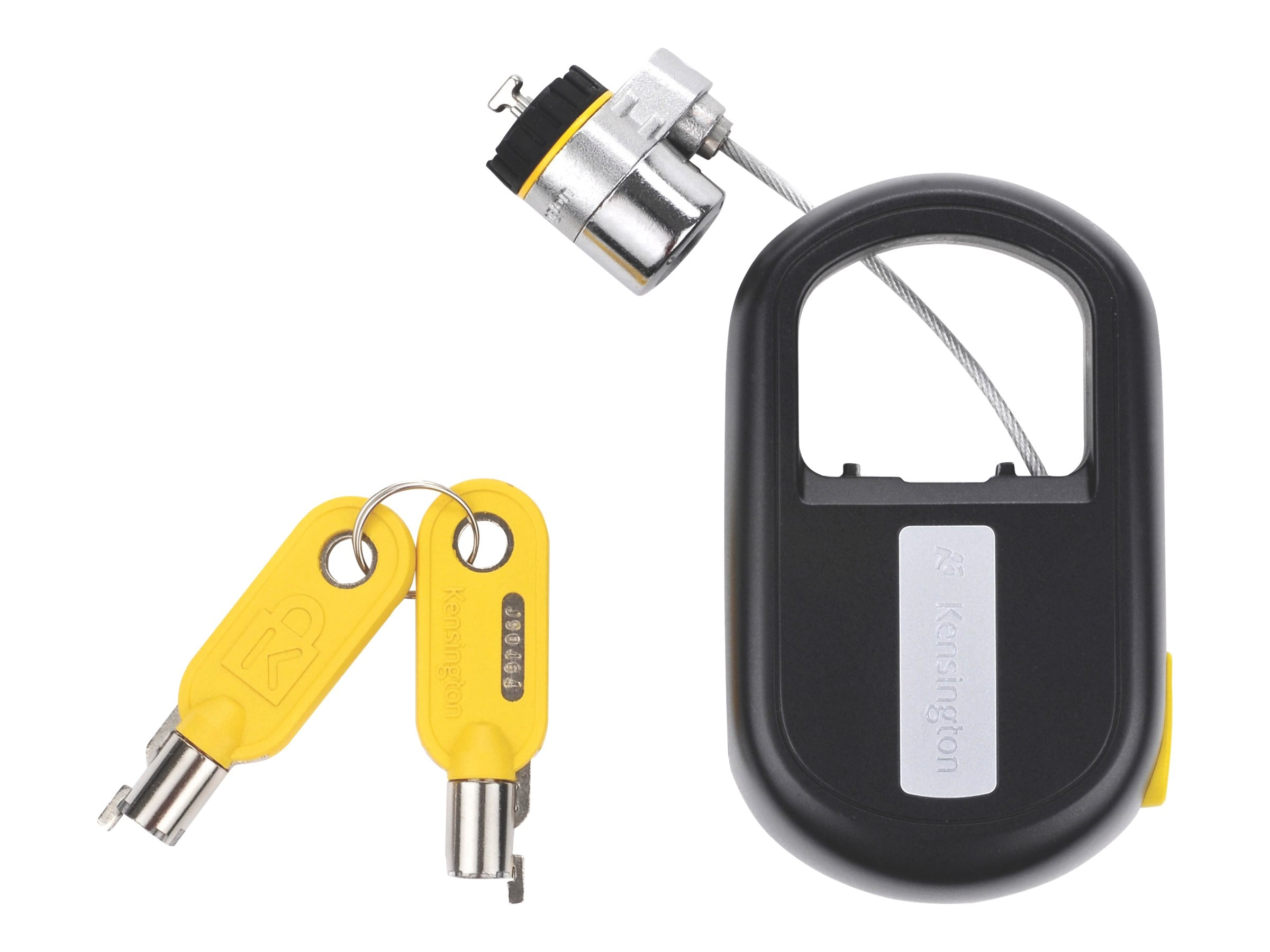 Kensington Microsaver Retractable Lock for Notebooks, K64538US, 8802091, Security Hardware