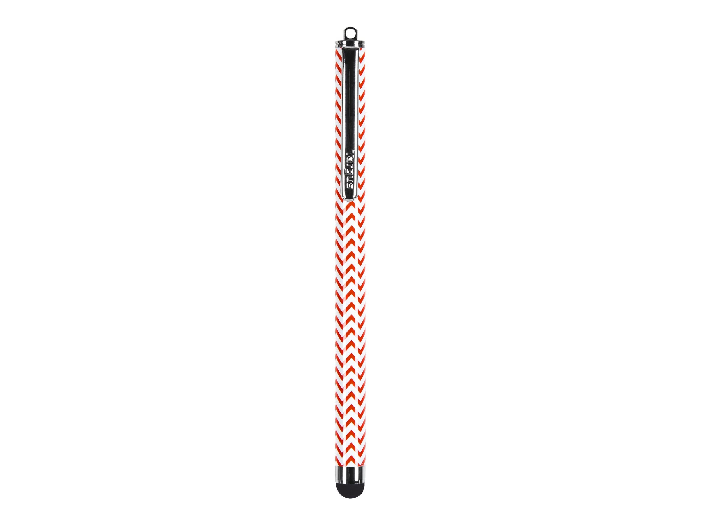 Targus Chevron Patterned Stylus, Red