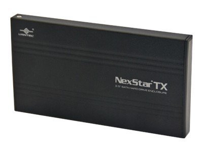 Vantec NexStar TX 2.5 SATA to USB 2.0 External Hard Drive Enclosure, NST-210S2-BK, 17433937, Hard Drive Enclosures - Single