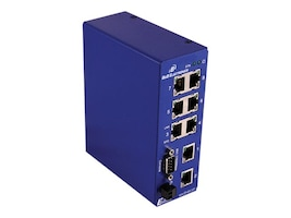 IMC Managed Switch 8-Port 10 100 WT NEMA TS2 OPT MDR-60-24DIN RAIL Power, ESW508-T, 17612741, Network Switches