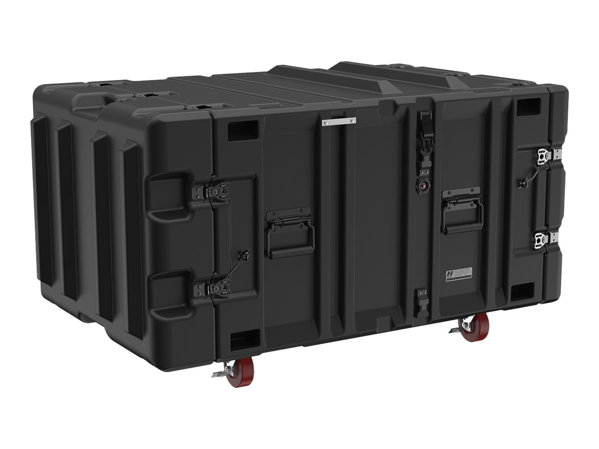 Pelican Hardigg Classic V Series Rack Mount 7U Case, Black