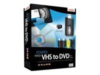 Roxio Easy VHS to DVD for Mac, 243100, 9807311, Software - Digital Conversion