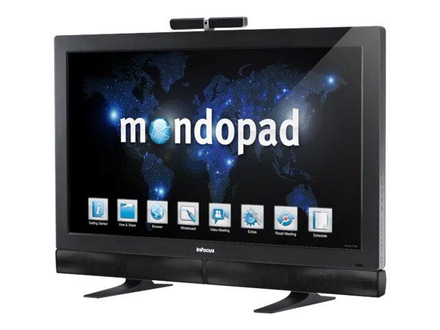 InFocus 55 Mondopad Full HD Touch Display, Black, INF5520A-KIT, 16113448, Monitors - Large-Format LED-LCD