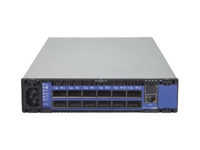 Mellanox SWITCHX-2 12-Port QSFP+ Based FDR InifiniBand 1U CTLR Switch w 2xPS, MSX6005F-2BFS