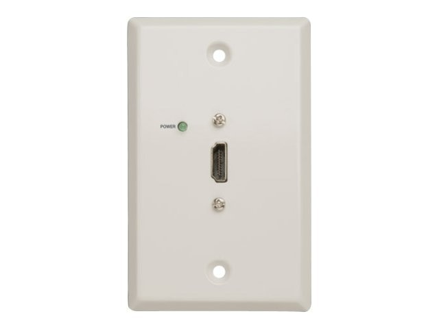 Tripp Lite HDMI-over-Cat5 Passive Extender Wallplate, White