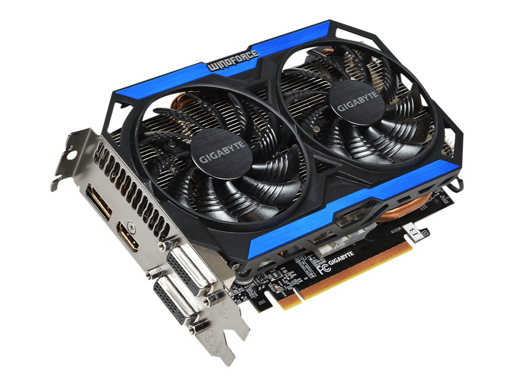 Gigabyte Tech GeForce GTX 960 PCIe 3.0 Graphics Card, 4GB GDDR5, GV-N960OC-4GD, 30005435, Graphics/Video Accelerators