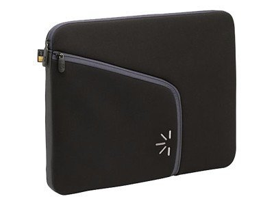 Case Logic 13.3 Laptop Sleeve, Black, PLS-13 BLACK, 8497525, Protective & Dust Covers