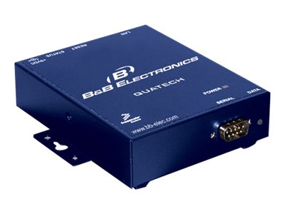 B&B Electronics 1 port RS-232 Serial Device Server (DB9), SSE-100D, 7624191, Remote Access Hardware