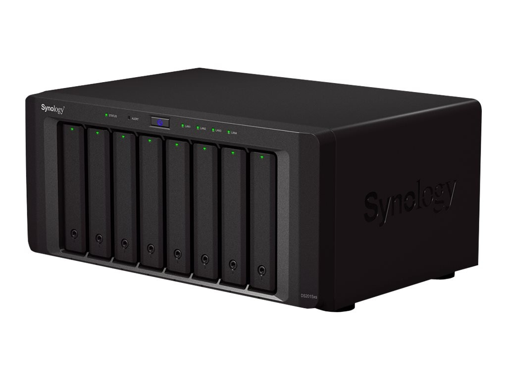 Synology DS2015XS 8-Bay NAS Server, DS2015XS, 18162155, Network Attached Storage