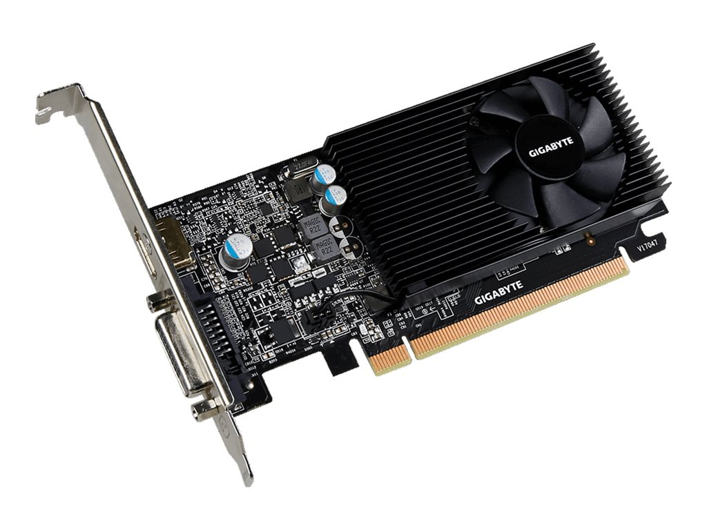 Gigabyte Tech GeForce GT 1030 Low Profile Graphics Card, 2GB GDDR5