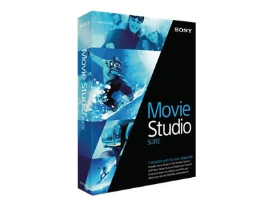 Sony Corp. Movie Studio 13 Suite, MSMST13000, 17978970, Software - Video Editing