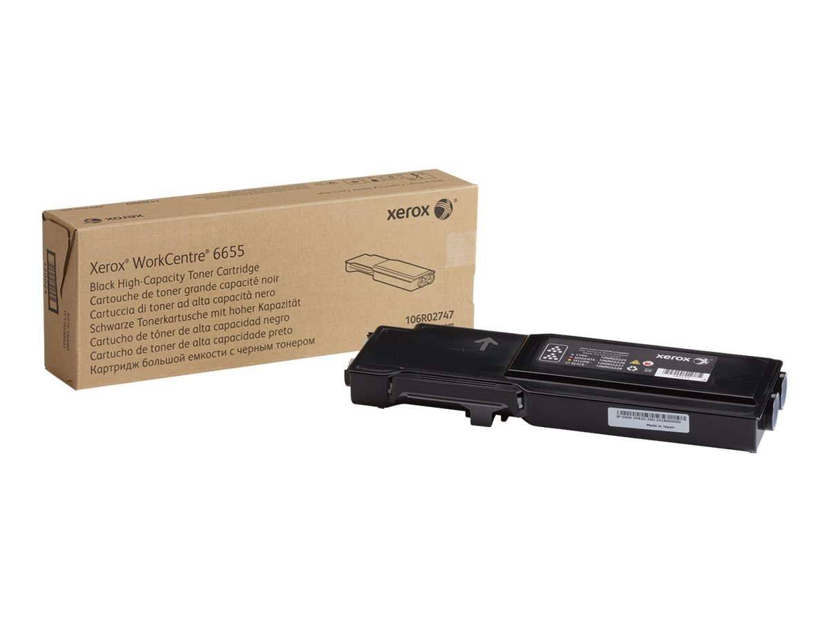 Xerox Black High Capacity Toner Cartridge for WorkCentre 6655, 106R02747