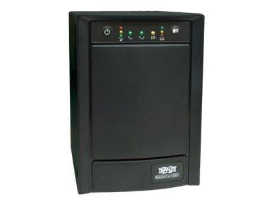 Tripp Lite 750VA UPS Smart Pro Tower Line-Interactive (8) Outlet with SNMP Slot, SMART750SLT, 5894390, Battery Backup/UPS