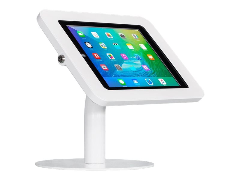 Joy Factory Elevate II Countertop Kiosk for iPad Pro 9.7, Air 2, White