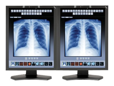 NEC Bundle (2) 21 MD211C3 3MP LED-LCD Display with Quadro K2000 Graphics Card