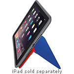 Logitech Anyangle Folio for iPad mini, mini 2, mini 3, Blue Red, 939-001383, 31204444, Carrying Cases - Tablets & eReaders