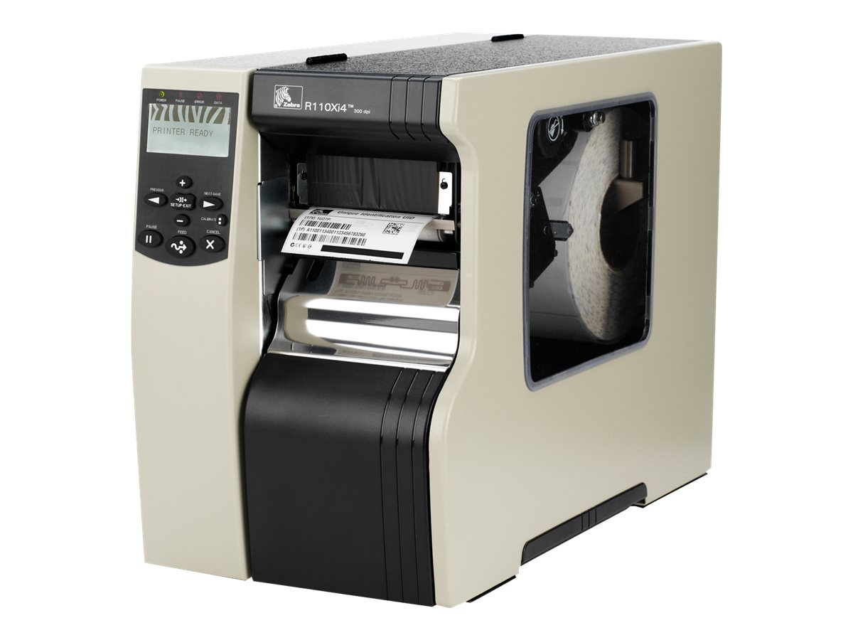 Zebra R110Xi4 RFID Printer-Encoder, R12-801-00100-R0