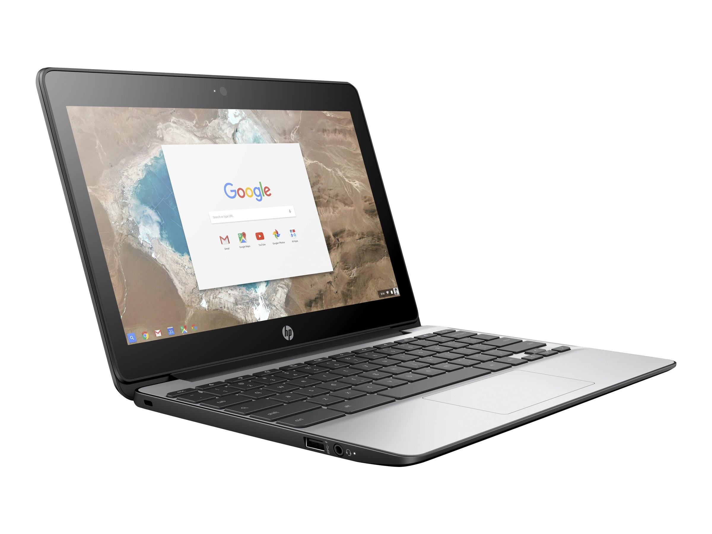 HP Chromebook 11 G5 1.6GHz Celeron 11.6in display, X9U02UT#ABA