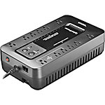 CyberPower Ecologic UPS Series 750VA 450W 120V Standby UPS 5-15P Input (12) 5-15R Outlets RJ-11 EMI ECO TAA