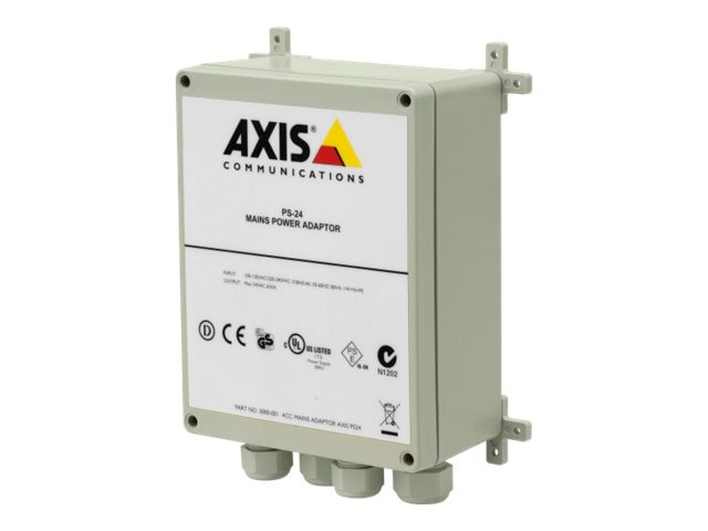 Axis PS-24 Mains Power Adapter, 5000-001, 6236621, AC Power Adapters (external)