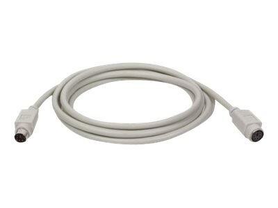 Tripp Lite PS 2 Keyboard Mouse Extension Cable, 15ft, P222-015