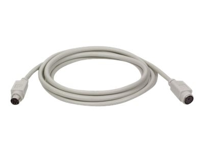 Tripp Lite PS 2 Keyboard Mouse Extension Cable, 15ft, P222-015, 417796, Cables
