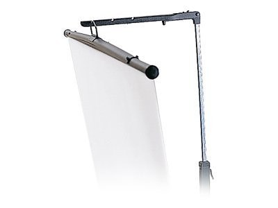 Bretford Manufacturing Tripod Projection Screen with Keystone Eliminator, 70 x 70, 3770MKE