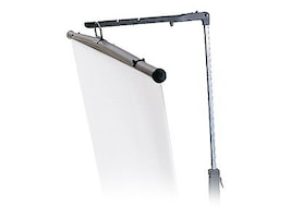 Bretford Manufacturing Tripod Projection Screen with Keystone Eliminator, 70 x 70, 3770MKE, 5382247, Projector Screens