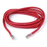 Belkin CAT5E UTP Patch Cable, Red, 9ft