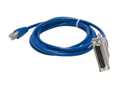 Digi RJ-45 to DB-25 (M) Adapter Cable, 6ft, 76000856, 12694636, Cables