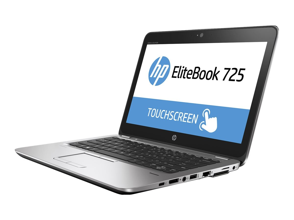 HP Smart Buy EliteBook 725 G3 1.6GHz A8 Series 12.5in display, T1C12UT#ABA, 30731517, Notebooks