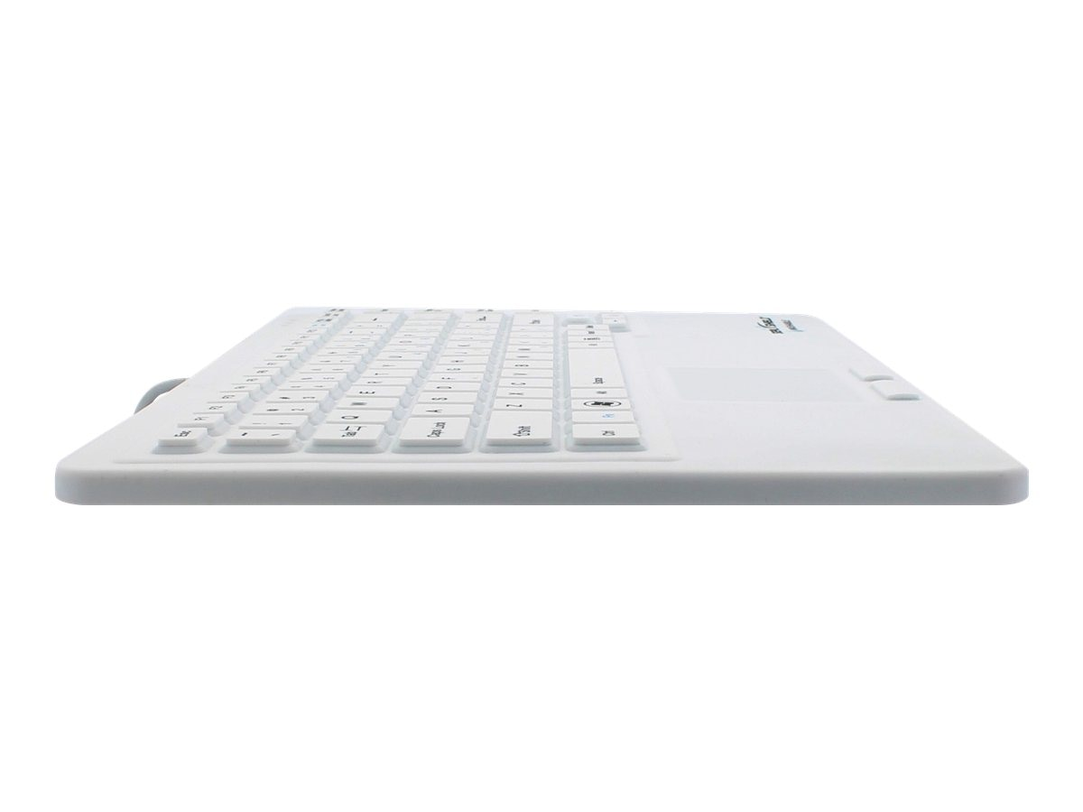 Seal Shield Seal Touch Silicone All-in-One Keyboard w  Built-in Touchpad, SW87P2