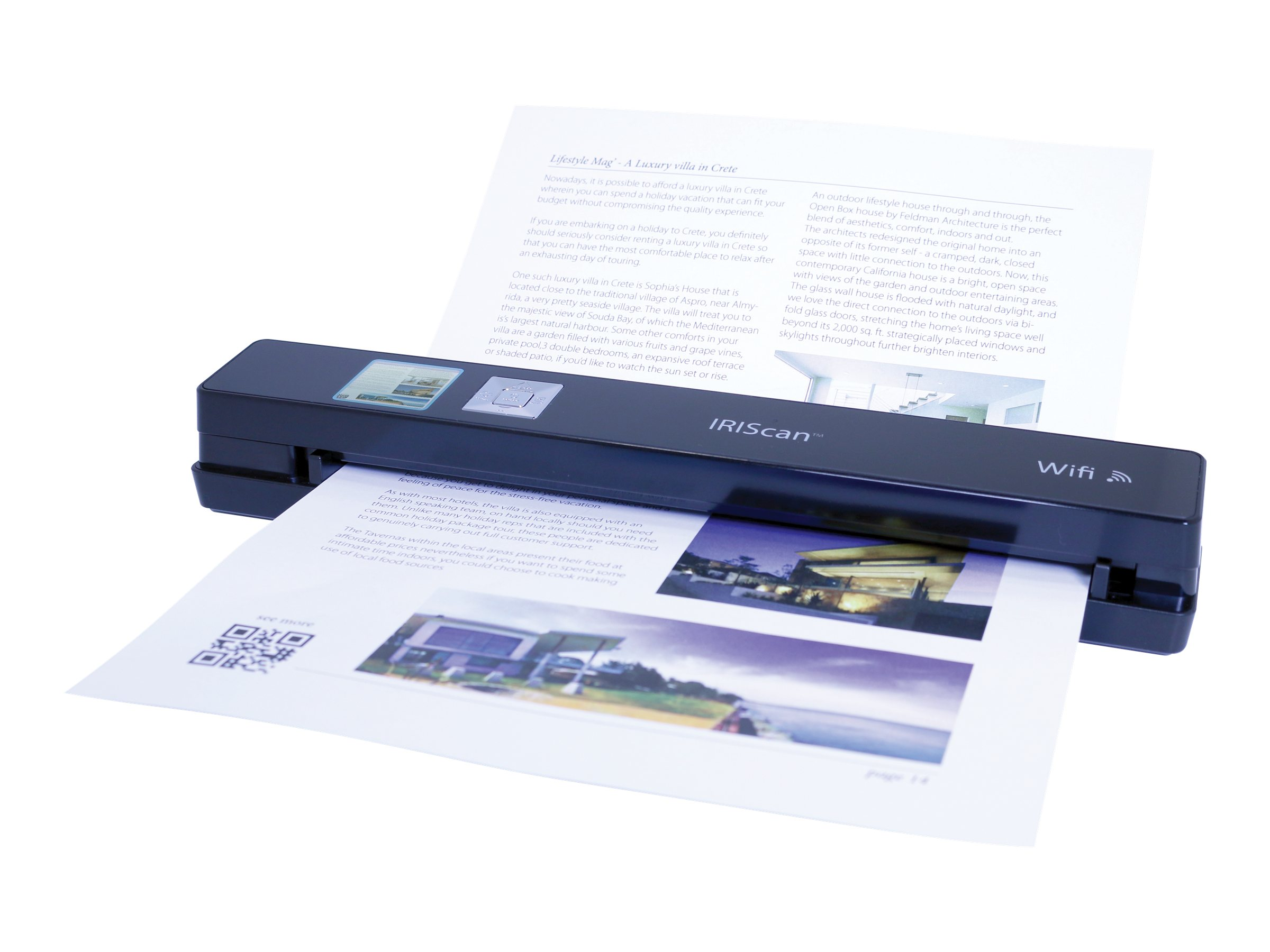 IRIS Iriscan Anywhere 3 WiFi Mobile Sheet-fed Scanner, 458129, 17661631, Scanners
