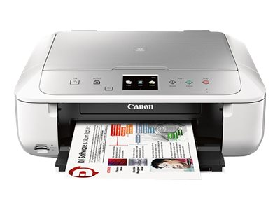 Canon PIXMA MG6822 Photo All-In-One Inkjet Printer - White Silver, 0519C062