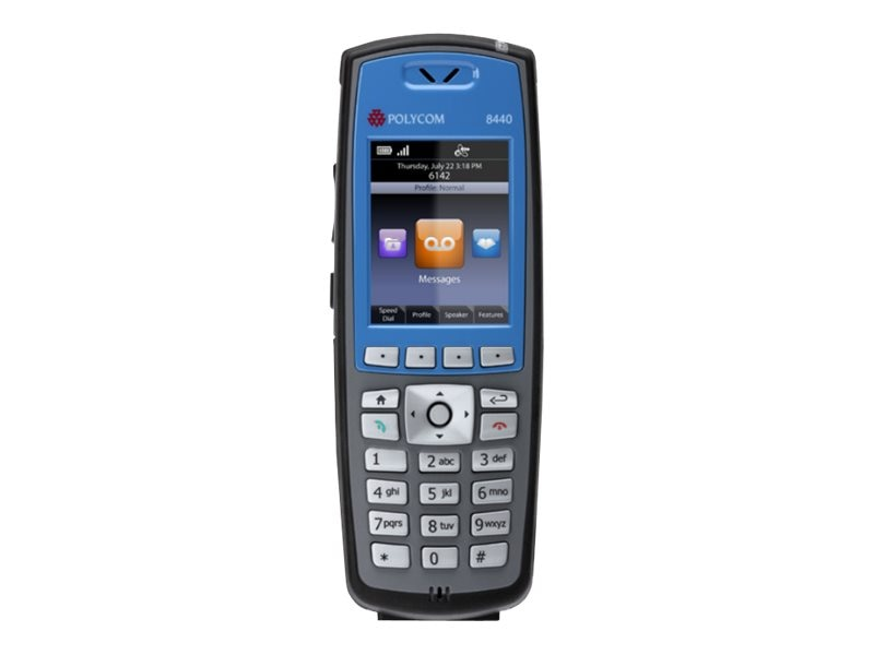 SpectraLink 8440 Handset, Blue (Lync support, battery & charger not included), 2200-37147-001, 19017603, VoIP Phones
