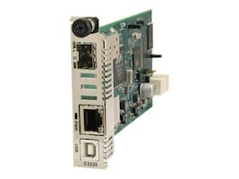 Transition OAM Remote Managed Ion Card 10 100 1000B-T to 1000B-X SFP Slot, C3220-1040, 11885001, Network Transceivers