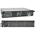 Tripp Lite ATS Metered PDU 7.4kW 230V 1-phase 2U RM, (2) IEC309 32A Blue Cords, (16) C13 (2) C19 Outlets, TAA