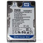 WD 250GB WD Blue SATA 2.5 Internal Hard Drive - 16MB Cache, WD2500LPCX, 31875379, Hard Drives - Internal