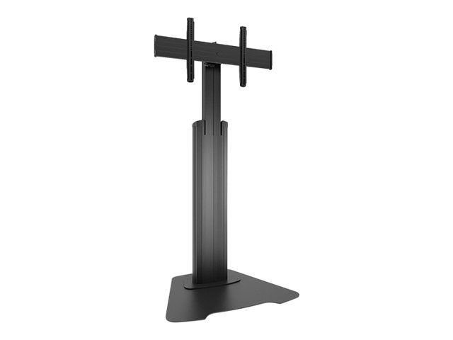 Chief Manufacturing Large FUSION Manual Height Adjustable Floor Stand