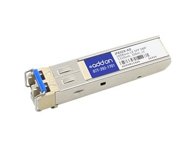 ACP-EP SFP 10KM LX LC XCVR JF832A TAA XCVR 1-GIG LX SMF LC Transceiver for HP, JF832A-AO