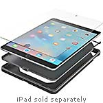 Zagg Rugged Tablet Case w  InvisibleShield Original for Apple iPad Air